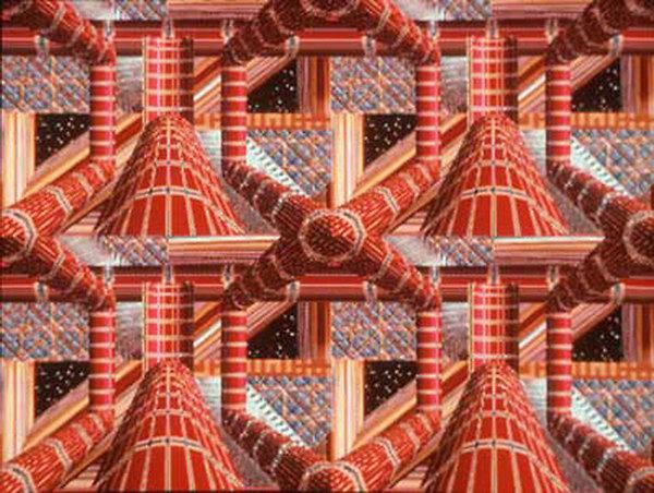 """David Em, """"Escher"""" 1979"""