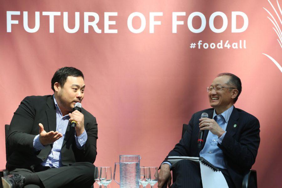 David Chang & Jim Yong Kim At The World Bank 'The Future Of Food' QCtj Gdblgc