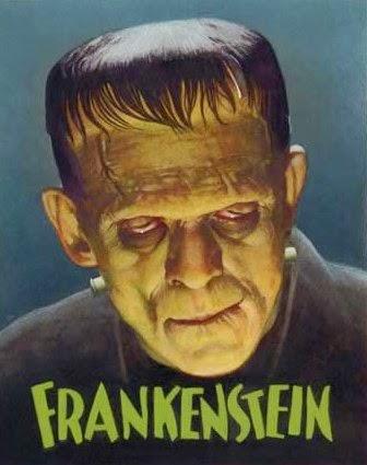 "Poster for the 1931 movie ""Frankenstein"""