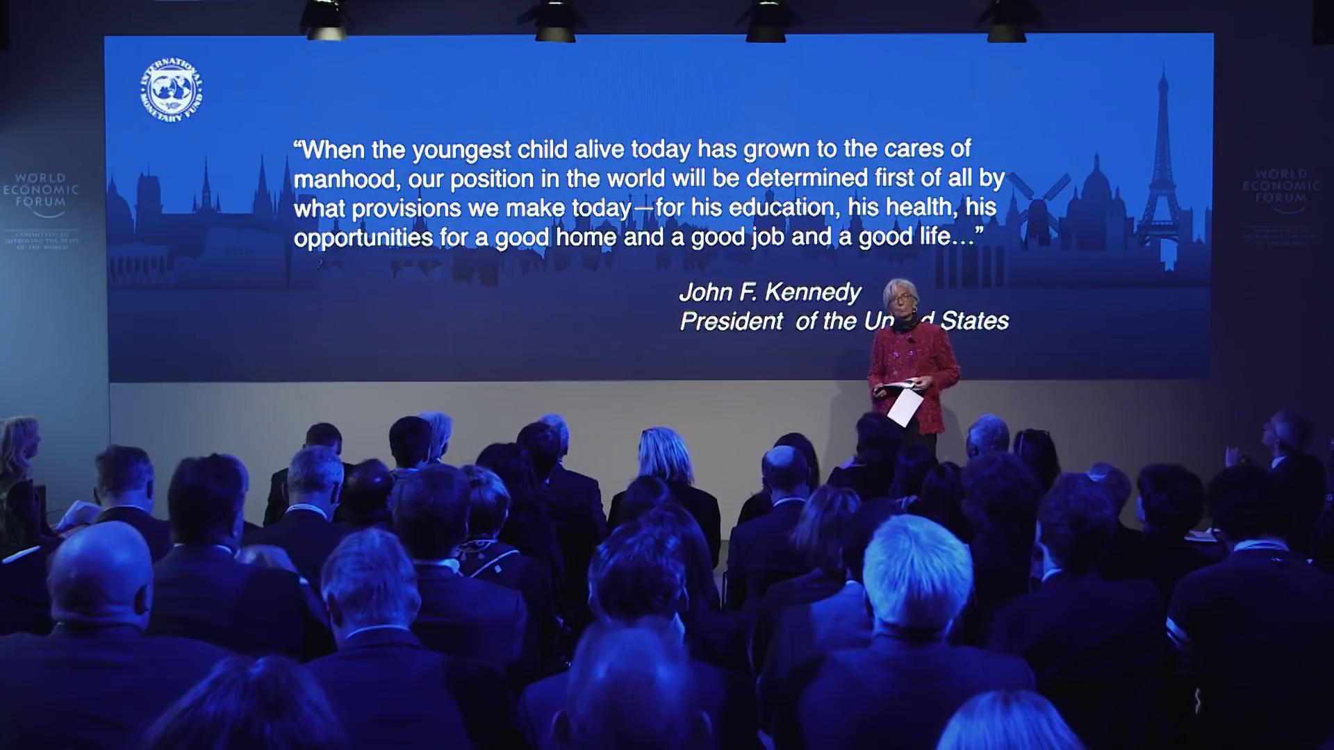 Solving the Economic Generation Gap - Christine Lagarde
